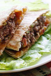 Quesadilla Burgers on Pinterest | Burgers, Burger Recipes and ...