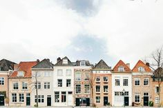 A lot of different facades in one picture... Photo by: @fotografille via Instagram