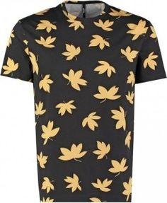 Versus Versace T-shirt print nero - nu in de uitverkoop te vinden via Aldoor! #mode #mannen #heren #shirt #zomer #mensfashion #summer #sale