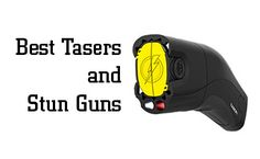 So you've decided you'd like to get a stun gun or Taser, but which is best for your comfort level and needs? Did you think they were the same thing? That's a common misconception but stun guns and Tasers are actually two separate electroshock weapons. We've chosen four categories to review and have come up with the best stun guns and Tasers for each category: best stun gun, best disguised stun gun, best introductory Taser, and best Taser.