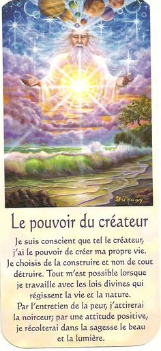 Mario Duguay- Message d'éveil Le pouvoir du créateur