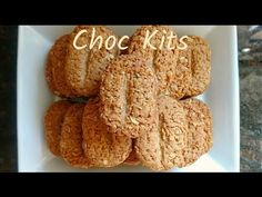 Choc Kits / Crunchy Chocolate oat biscuits ~ MayHosain - YouTube