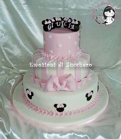 Minnie cake super cute