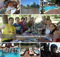 SysOne festeja Fin de año en el Tigre!!...