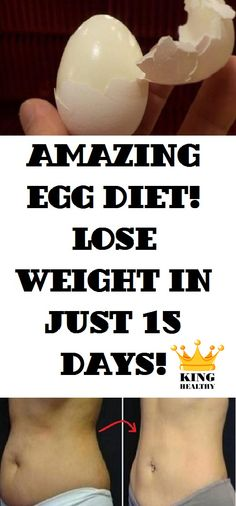 """This incredible boiled egg diet is extremely """"fast"""" and most importantly, really efficient. You will see results in just 15 days. Throughout those 15 days, you have to make a break of 2 days after[...]"""