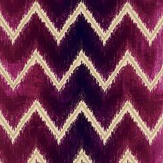 Shock Wave | 54863 in Ruby | Schumacher Fabric