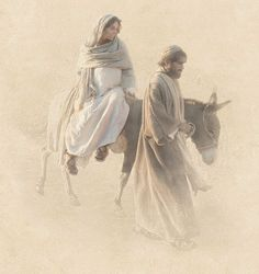 Walking with Mary - Day 2 Pictures Of Christ, Bible Pictures, Lds Art, Bible Art, Religious Images, Religious Art, Gif Noel, Mary Day, Mama Mary