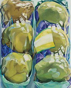 Janet Fish - Untitled Still Life Drawing, Painting Still Life, Painting Inspiration, Art Inspo, Juan Sanchez Cotan, Still Life Artists, Guache, A Level Art, Pastel