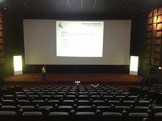 Servicios de Video y Sonido para salas de cine, charlas y conferencias, Sala de Cines Unidos Líder.