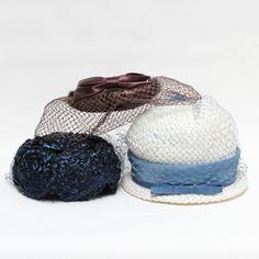 vintage hats (set of 3)