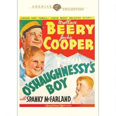 O'Shaughnessey's  Boy (1935) One of several wonderful Cooper films happy to see finally released... and this is a great one that reunites him with Wallace Beery! Wish the other still UNreleased pairing of them would get it's release too!