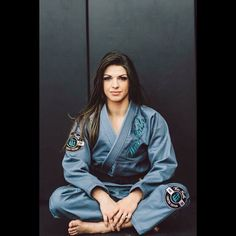 Check out the newest women's gi by @wartribegear !!! Check out the link in my bio to see all the beautiful details  https://wartribegear.com/fiercely-feminine-gi/