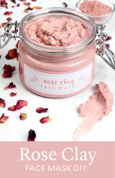 Rose clay is a naturally beautiful skincare ingredient. It adds a soft, rosy hue to this Rose Clay Face Mask. Rose clay has gentle oil-absorbing properties, making this mask suitable for both dry and
