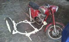 Restoring the side car and installation