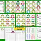 Winter Mitten Smitten Contractions PuzzlesLiteracy Center Activities, Recording Sheets and Awards17 Page Download – 48 Mittens and Hats Contract... $2.95