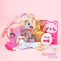 ❤ TWO DAYS LEFT TO SUBSCRIBE! ❤ All these cute items were included the this month's Kawaii Box! Subscribe now and you will receive the October box ► http://www.kawaiibox.com