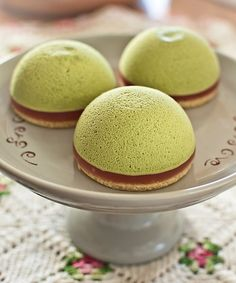 Pastelitos de té verde y Japón en el corazón