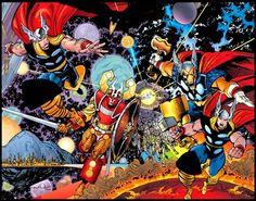 awesome Walt Simonson art