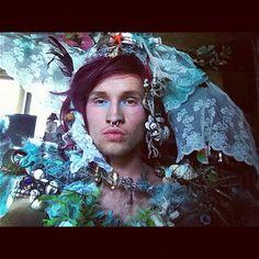 wearable art by bennyfray Wearable Art, Crown, Instagram Posts, Image, Fashion, Moda, Corona, Fashion Styles, Fashion Illustrations