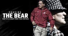 Chasing The Bear - al.com #Alabama #RollTide #Bama #BuiltByBama #RTR #CrimsonTide #RammerJammer #NickSaban