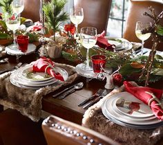 Holiday Forest Salad Plates,| Pottery Barn
