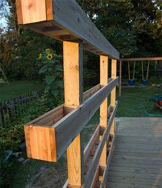DIY Vertical Garden! Awesome!