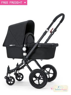 BUGABOO CAMELEON 3 SPECIAL EDITION ALL BLACK