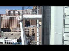 High Roller Las Vegas Is The World's Tallest Ferris Wheel at The LINQ POV Tour HD Video 3-31-14 By Chris Rauschnot http://twitter.com/24k #travel #worldstallest #ferriswheel #observationwheel