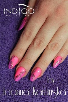 by Joanna Kamińska Double Tap if you like #mani #nailart #nails #pink Find more Inspiration at www.indigo-nails.com