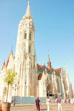 Matthias Church - Castle District of Budapest, Hungary.... an amazing place to go!!! I suggest everyone go at least once....