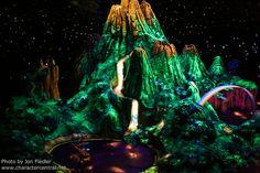 Neverland inside Peter Pan's Flight
