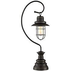 Ulysses Oil-Rubbed Bronze Industrial Lantern Desk Lamp - - Amazon.com