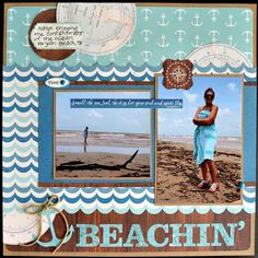 Beachin'. October Afternoon