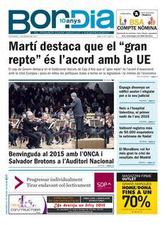 Bon Dia (2004 - ) Andorra Newspaper Cover, Andorra, Free