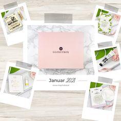 Ich zeige euch den gesamten Inhalt meiner Glossybox vom Januar 2021, die vollgepackt mit tollen, tierversuchsfreien Pflegeprodukten ist! #beautyblog #beautyblogger #unboxing #glossybox Blog, January, Blogging