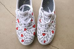 DIY Shoes : DIY Easy, Quirky and Fun Valentine Gifts
