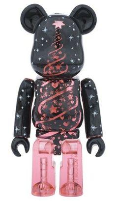 2014 Xmas BE@RBRICK Christmas tree figure, produced by Medicom Toy.
