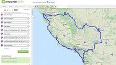 Routenplanung mit Map Quest