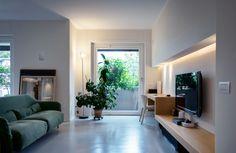 Abitazione Privata Milano - HI LITE Next #interior #lighting #design #fixtures #viabizzuno sistema 94, arco #led, Fontana Arte Nobi