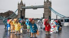 All About London: Paddington Bear trail around London