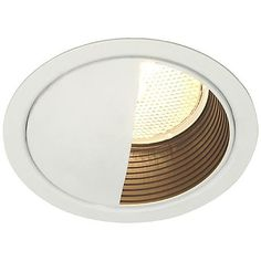 "Lightolier 5"" Line Voltage Wall Washer Recessed Light Trim Cover"