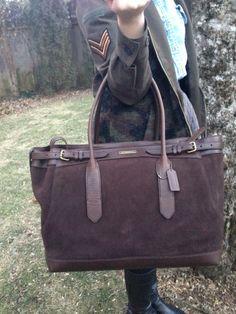 SB Billy Reid + Coach bag