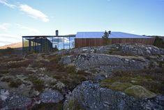 Snorre Stinessen Architecture Narvik, Lofoten, Glass Cabin, Norway Fjords, Summer Cabins, Winter Cabin, Exterior Cladding, Kabine, Sauna