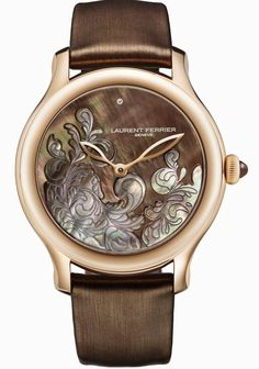 Lady F Reinterprets Laurent Ferrier's Stunning Galet For The Feminine Wrist Or Rouge, Silver Pocket Watch, Swiss Army Watches, Beautiful Watches, Elegant Watches, Watches For Men, Popular Watches, Ladies Watches, Cheap Watches