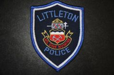 Littleton Police Patch, Arapahoe County, Colorado (Current Issue)