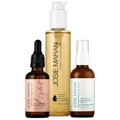 A trio of Josie Maran's bestselling, full-size Argan skincare products for healthy, balanced, hydrated skin. #Sephora #valueset