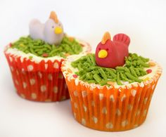 Cheeky Chicken cupcakes
