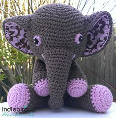 Our Adorable Amigurumi Elephant