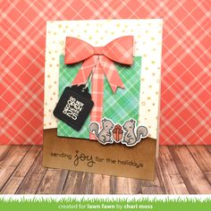 Hello and welcome to Lawn Fawn's October 2016 Inspiration Week! We are   just so excited about this week! We are featuring 6  stamp  set...