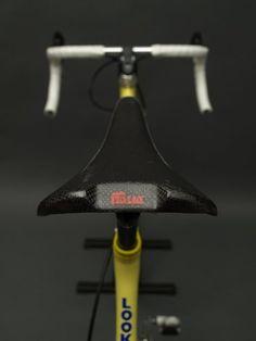 Selle Italia carbon sadle on a Look bike
